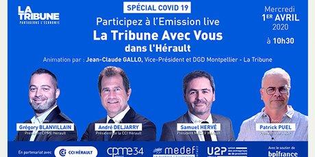 Live video Covid-19 Montpellier (1e avril 2020)