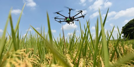 drone aritech agriculture