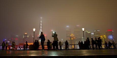 Shanghai illustration pour smart city