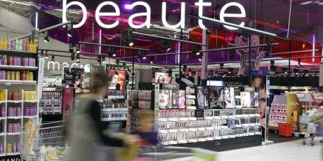 Rayon Beauté et cosmétiques de Carrefour en 2011