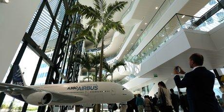 inauguration siège airbus group