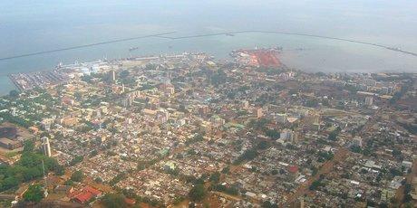 Conakry vue aerienne Guinée