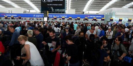 Des vols british airways au depart de londres toujours perturbes