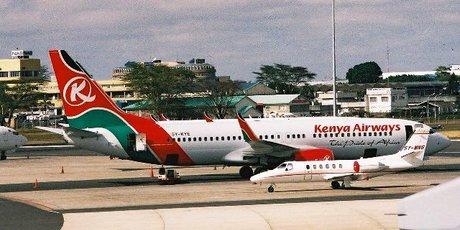 kenya airways transport aérien