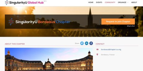 Singularity university Bordeaux