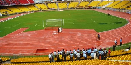Stade Omnisports Ahmadou Ahidjo Yaoundé Cameroun