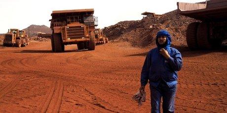 Mauritanie mine fer Zouarate