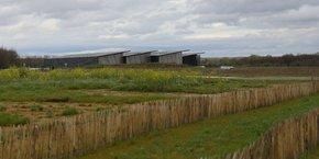 Vinovalie est pour l'instant la seule entreprise implantée sur les Portes du Tarn.
