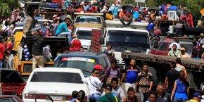 Plus d'un million ont fui le Venezuela pour la Colombie ces 15 derniers mois