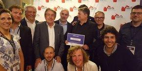 Les participants du Train de la French Tech à Madrid