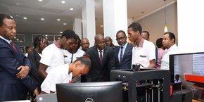 Jeunes entrepreneurs et étudiants sont venus nombreux pour assister à ces deux journées de lancement d' «Alpha Haïti».