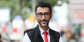 Bibop Gresta, confondateur d'HTT à Toulouse lundi 18 juin.
