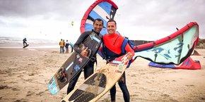 Fred Diaw et Sylvain Morel, les deux fondateurs de Sportihome.