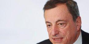 Les ratios de créances douteuses des banques de la zone euro sont encore supérieurs à ceux des banques américaines, a relevé Mario Draghi le 18 septembre.