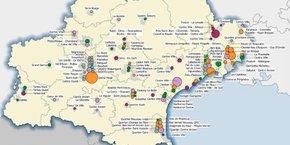 La région Occitanie compte 105 quartiers prioritaires depuis 2014.