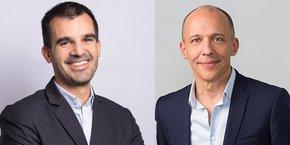 Thomas Allaire et Jérôme Armbruster, les directeurs généraux de JobiJoba et RégionsJob