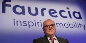 Patrick Koller, Pdg de Faurecia, a confirmé ses objectifs pour 2020 : chiffre d'affaires de 20 milliards d'euros (au moins) et une marge de 8%.