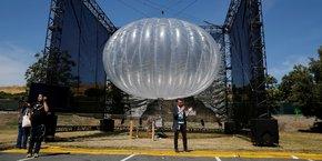 Un ballon Loon a été présenté il y a deux ans, en Californie.