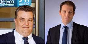 Christian Varinard (à gauche), Pascal Ronzière (à droite)