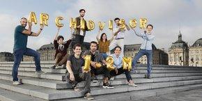 L'équipe d'Archidvisor à Bordeaux