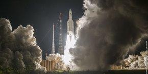 La mission 243 était le centième lancement d'Ariane 5 depuis juin 1996