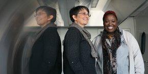 Valérie Madeleine et Clémentine Renaud sont à l'initiative des Cuisines de Cap'Éco.