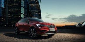 L'Arkana de Renault, présentée au salon de Moscou, sera lancée en Chine mais n'a pas pour l'instant vocation à arriver en Europe.
