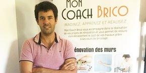 Dimitri De Cruz, fondateur et président de Mon Coach Brico.