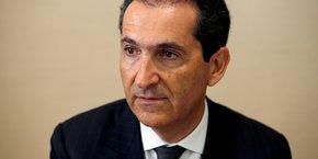 Patrick Drahi, le propriétaire et fondateur d'Altice Europe, maison-mère de SFR.