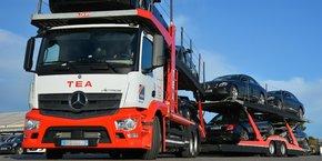 La division dédiée à la logistique automobile représente 30% du chiffre d'affaires du groupe.
