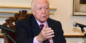 Le maire de Marseille Jean-Claude Gaudin (LR).