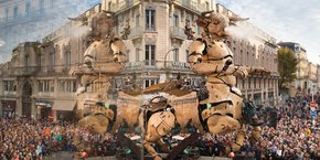 Près de 900 000 personnes ont assisté du 1er au 4 novembre aux déambulations du Minotaure dans les rues de la Ville rose.