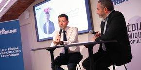 Sébastien Matty, avec son entreprise, veut agir en faveur de la transition énergétique.