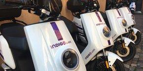 Une centaine de scooters électriques de ce type vont se déployer dans les rues de Toulouse.