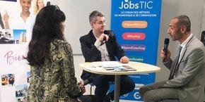 Meetups, speed coaching et autre job dating ont émaillé la journée du 14 novembre 2018, lors du forum JobsTIC à Montpellier.