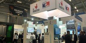 Business France permet, depuis 2014, à des entreprises françaises de présenter leur savoir-faire à Africacom.