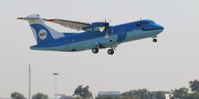 En août 2015, la compagnie régionale Amakusa Airlines a pris livraison d'un ATR 42-600, le premier appareil du constructeur franco-italien à être mis en service au Japon