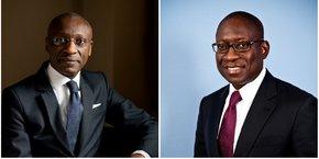 Charles Kié (à gauche), ex-patron d'Ecobank Nigeria et du Groupe Banque Atlantique, prend la direction générale de NACP, tandis Paulo Gomes, ex-directeur exécutif pour l'Afrique subsaharienne à la Banque mondiale, garde le statut de cofondateur. Ils ambitionnent de faire de leur plateforme d'investissement une référence en Afrique.