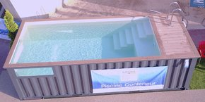 La PME revendique une exclusivité sur ses piscines-conteneurs et sur son concept de box aqua bien-être