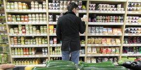 La grande distribution s'intéresse de plus en plus au marché vegan.