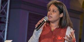 Salwa Toko, présidente du Conseil national du numérique, de passage à Bordeaux lors du French Tech Day