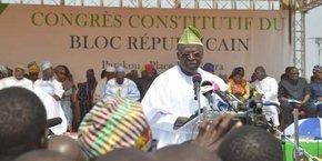 Abdoulaye Bio Tchané, ministre d'Etat en charge du Plan et du développement et un des ténors du Bloc républicain.