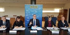 Le président du Conseil Départemental, Jean-Pierre Barbier, s'est une nouvelle fois engagé à présenter un budget 2019 sans hausse de la fiscalité.