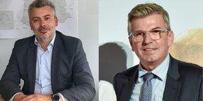 De gauche à droite : Cédric Grail et Pascal Protière