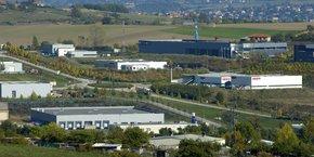 L'actuelle zone d'activité de Stelytec, à Saint-Chamond