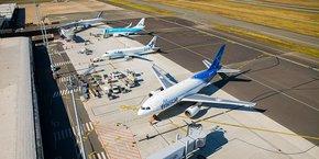 L'aéroport a enregistré en 2018 une activité record.