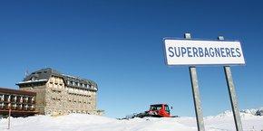 Luchon-Superbagnères a ouvert deux pistes de ski le week-end dernier grâce aux canons à neige.