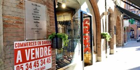 Depuis mercredi 16 janvier, des commerces de Toulouse sont en vente.