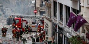 Une violente explosion survenue rue de Trévise, dans le IXème arrondissement de Paris, a fait quatre morts et 66 blessés. Neuf immeubles de ce quartier proche des Grands Boulevards sont jugés inhabitables.