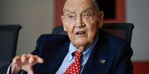John Bogle, le fondateur du gestionnaire d'actifs Vanguard.